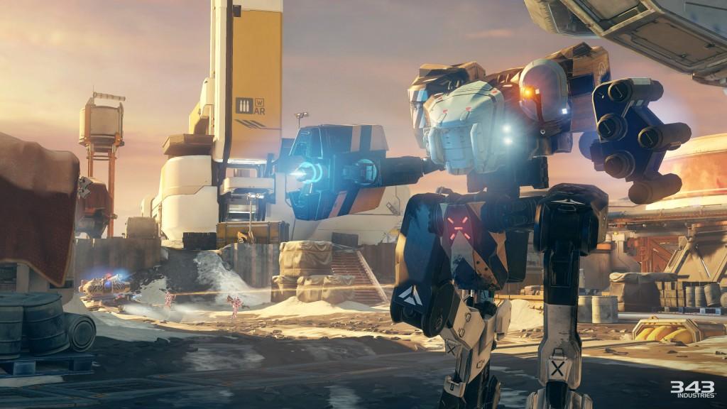 Halo 5 Guardians Skirmish at Darkstar Mantis