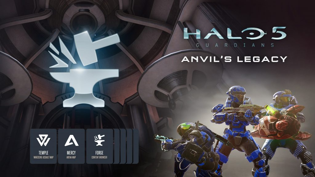 Halo 5: Guardians Forge Anvil's Legacy