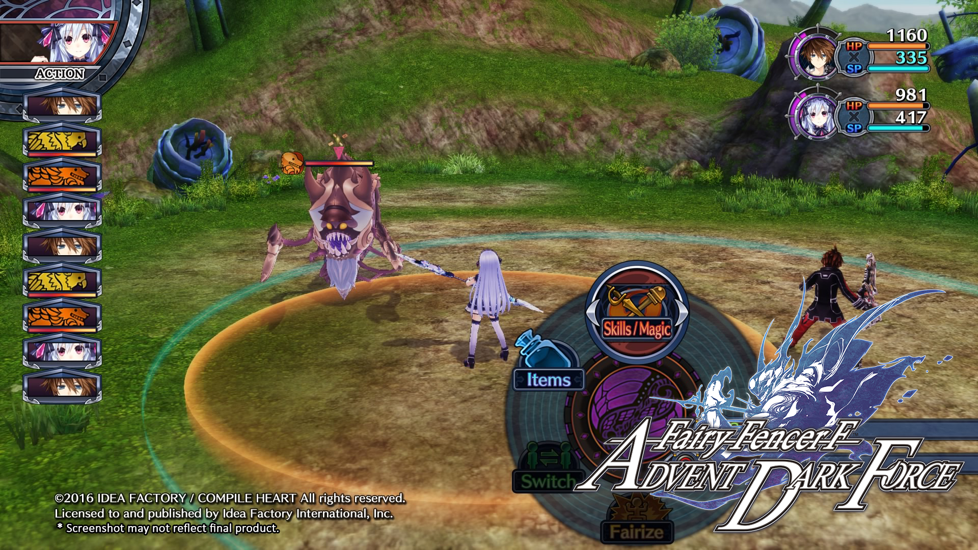 Fairy Fencer F Advent Dark Force Review The Hidden Levels