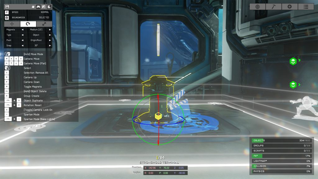 Halo 5 Forge Fathom Strongholds