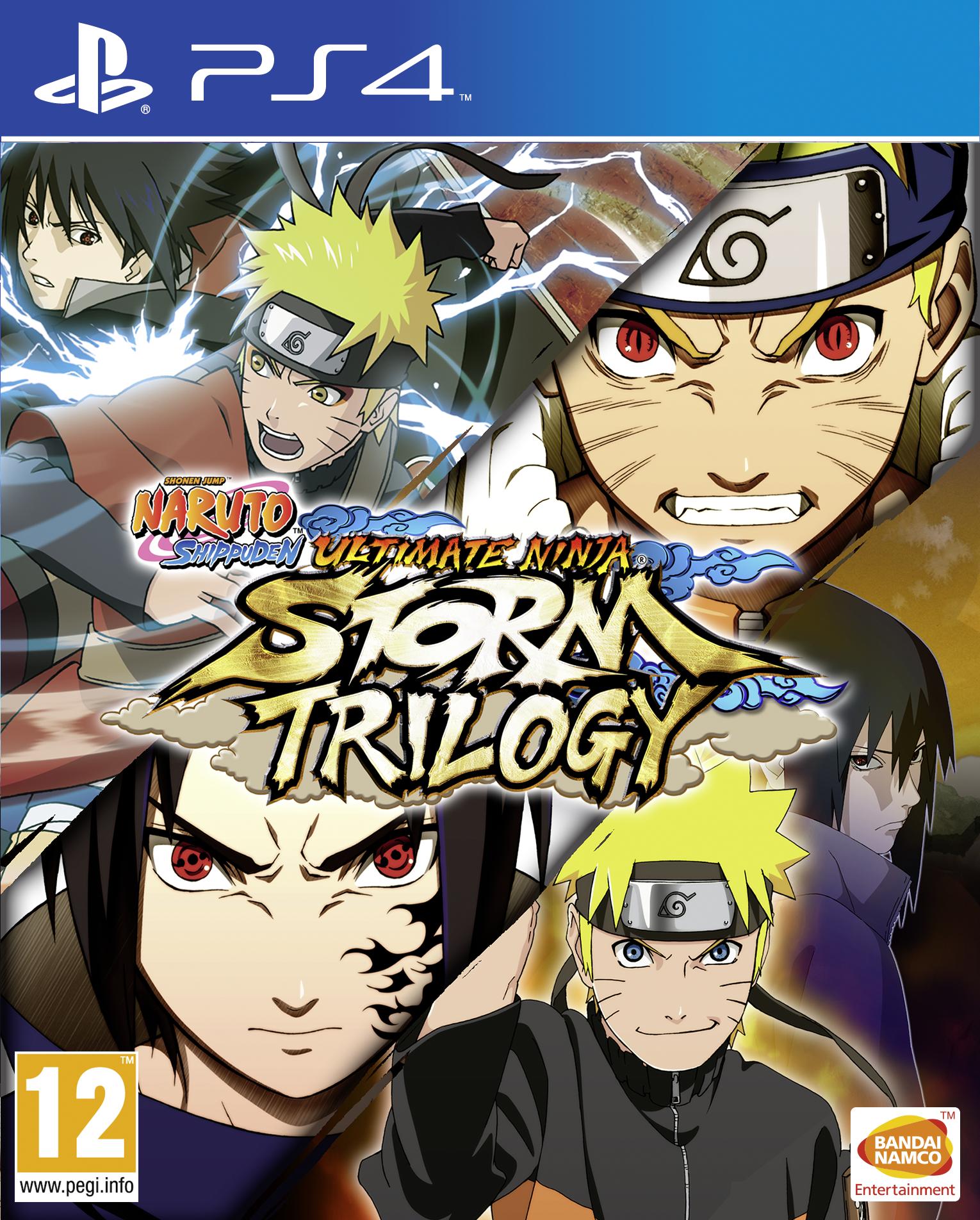Naruto Shippuden: Ultimate Ninja Storm Trilogy Announced ...