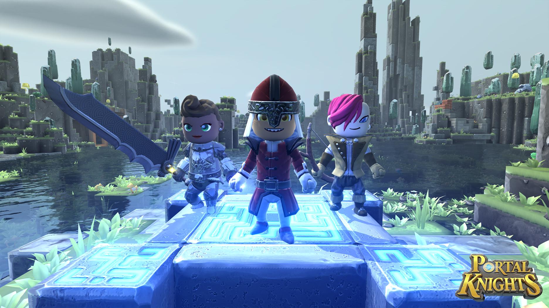 3 D Sandbox Rpg Portal Knights Is Making Its Way To