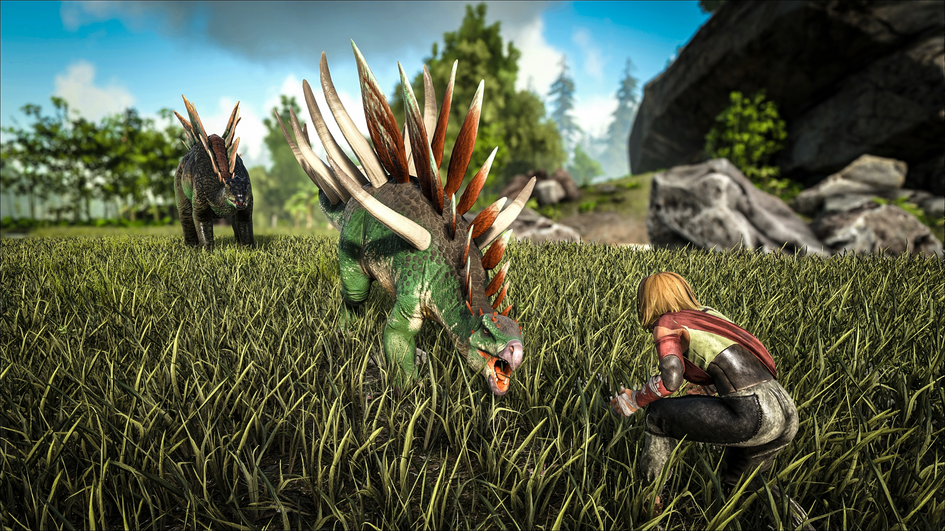 Ark Survival Evolved Update V257 Trailer Screenshots The Hidden Levels Level it really high with food to heal for longer. the hidden levels