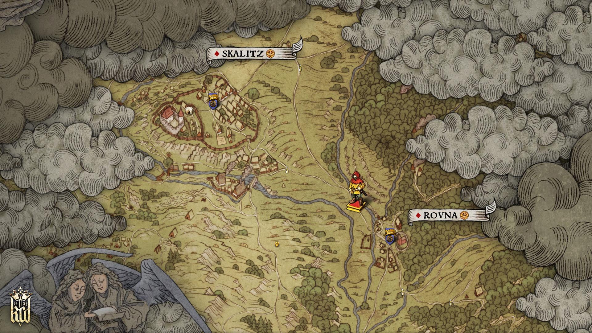 Kingdom Come Deliverance Uralte Karte 1